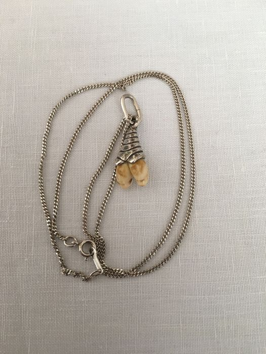 835 silver - necklace with pendant
