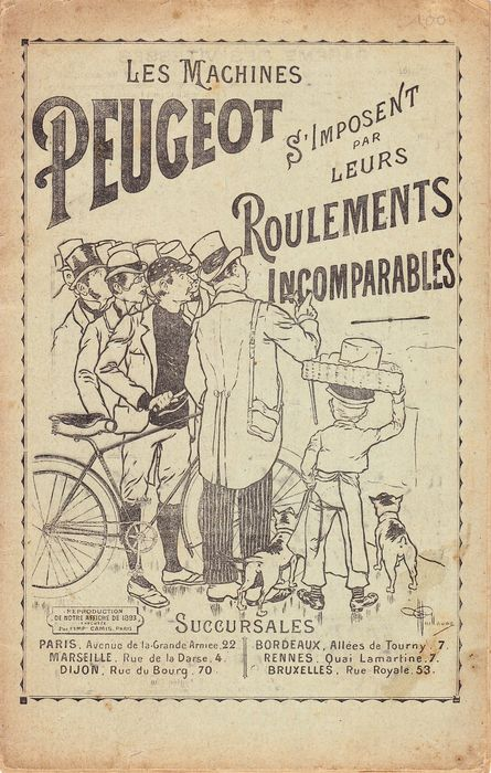 Brochures / Catalogi - Peugeot - Great over a century old vehicles magazine ( Peugeot, Clément ) 1896 - 1896