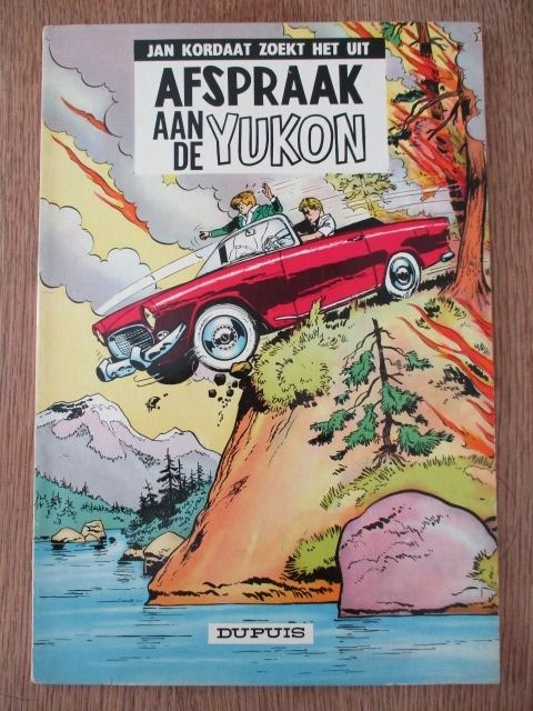 Jan Kordaat 9 - Afspraak aan de Yukon - Softcover - First edition - (1963)