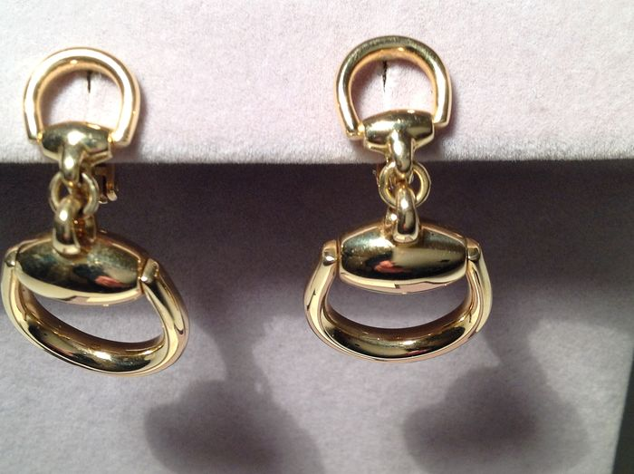 Gucci - 18 kt. Yellow gold - Earrings