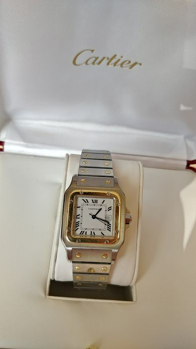 Cartier - Santos Galbee - Ref. 2961 - Men - 2000-2010