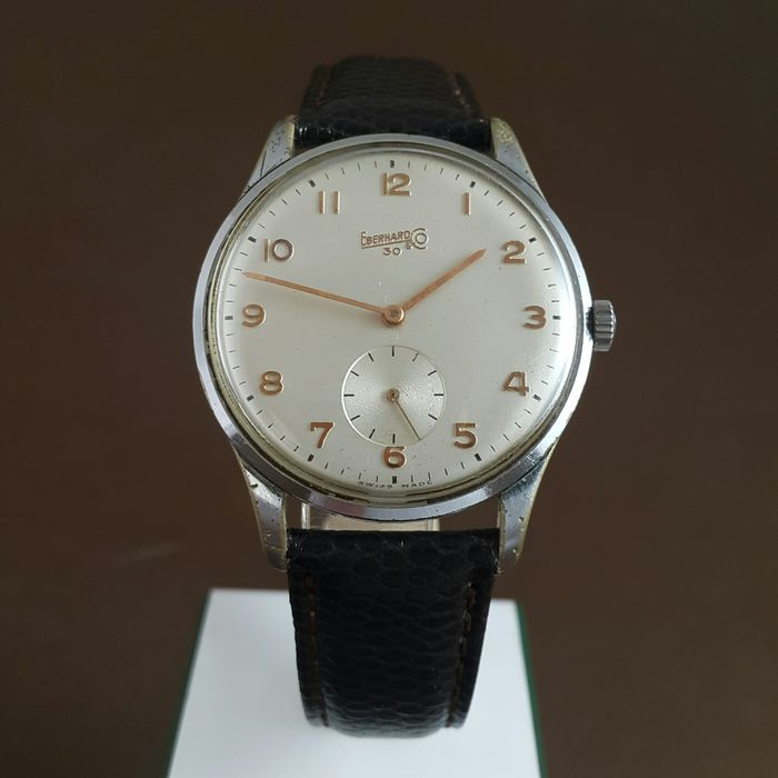 Eberhard & Co. - 30 - Oversize & Subsecond  - Ref. 458 - Mod. 30  - Men - 1960-1969