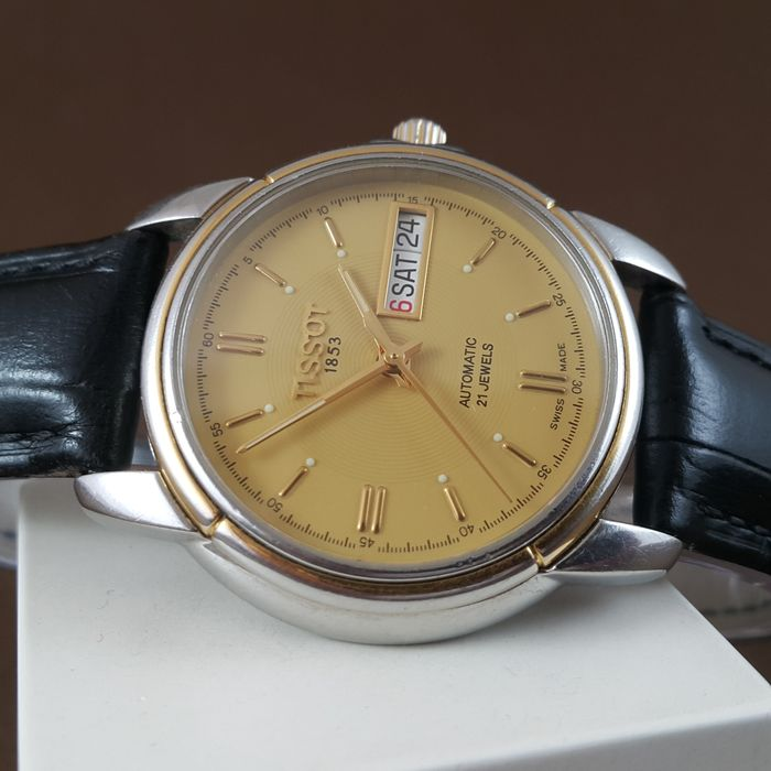 """Tissot - """"NO RESERVE PRICE"""" Automatic - Ref. A660/760K - Heren - 1990-1999"""