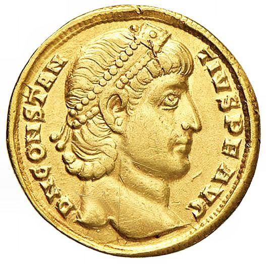 Roman Empire - Solido, Costanzo II (337-361), Antiochia, 337-347 - Gold