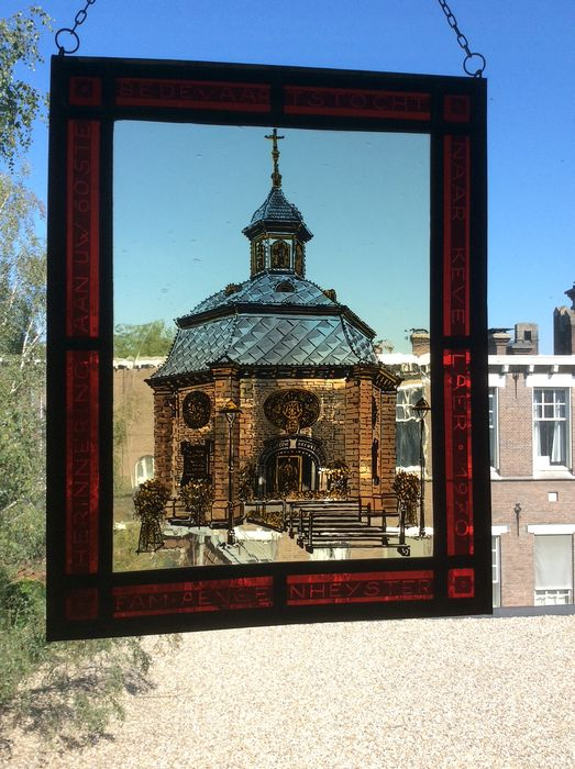 Memory of your 60th Pilgrimage To Kevelaer 1970 - Fam. Aengenheyster - Stained glass
