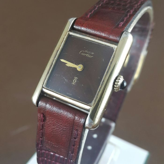 Cartier - Tank Must de - No Reserve Price - Ref. 3.077200 - Women - 1980-1989
