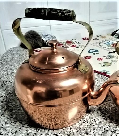 kettle in copper (1) - copper