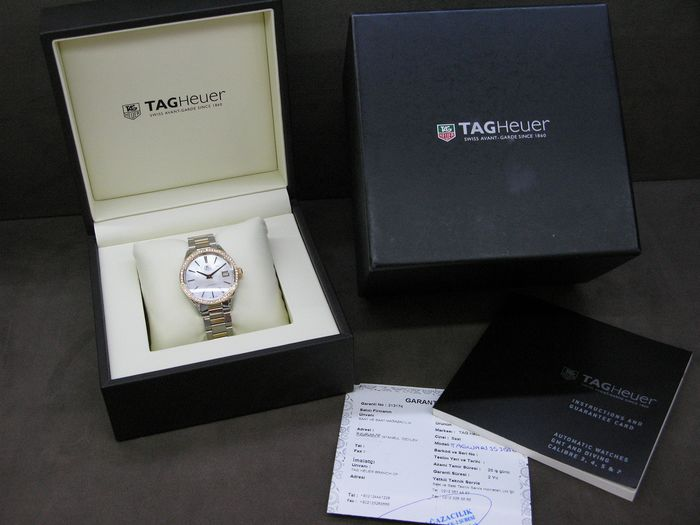 TAG Heuer - Carrera Solid Rose Gold & Stainless Women's Watch - WAR1353.BD0774  - Women - 2011-present