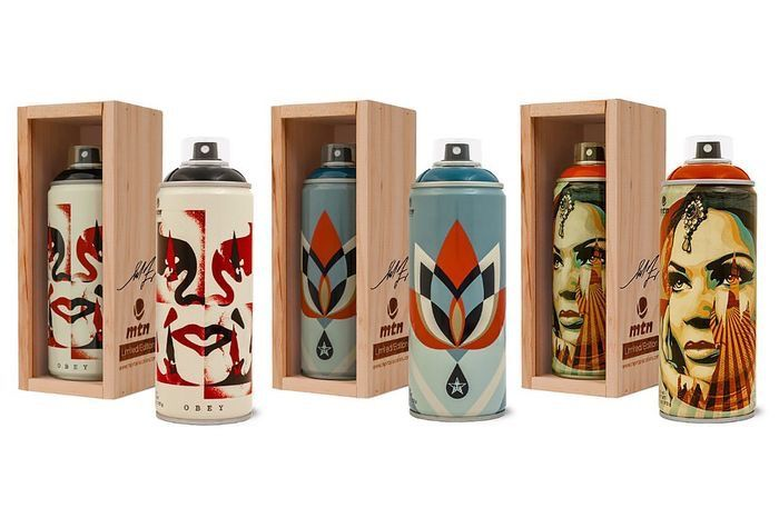Shepard Fairey (OBEY) - Montana Spray Paint Can Set