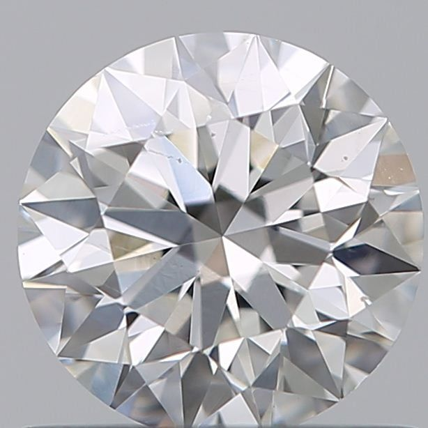 1 pcs Diamante - 0.66 ct - Brillante - G - SI1