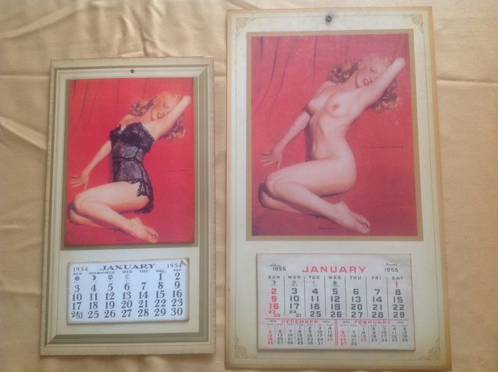 Anonymous - 16 Calendriers Marilyn Monroe
