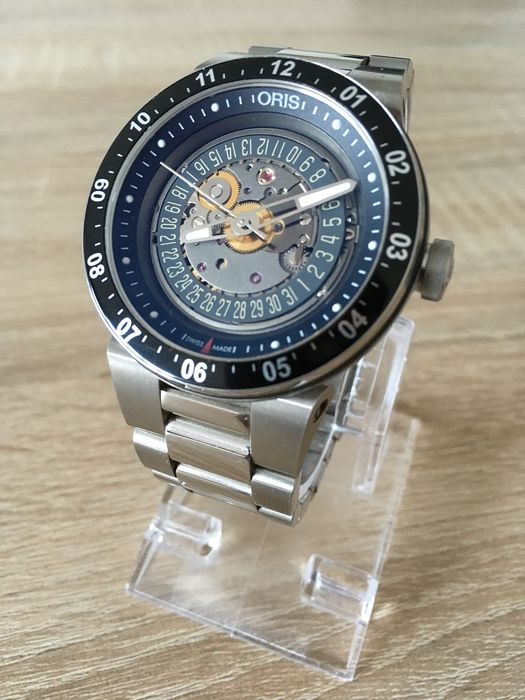 Oris - Oris WilliamsF1 Team Skeleton Engine Date - 31-07584 - Men - 2011-present