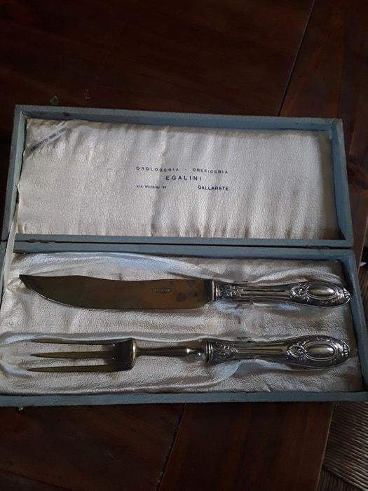 fork and knife (2) - silver and steel