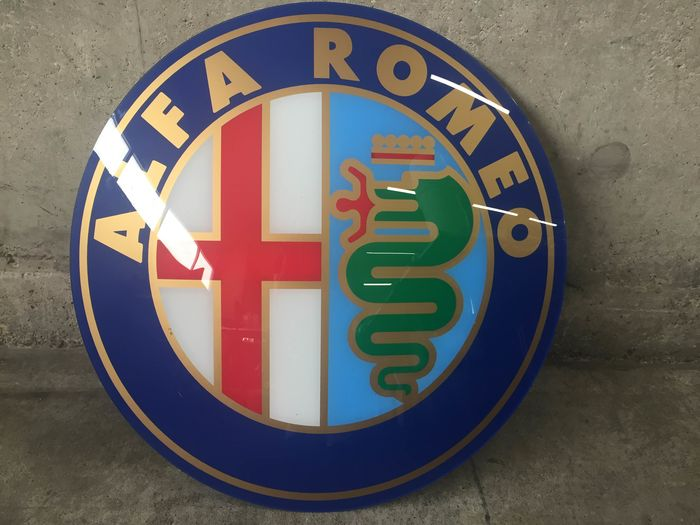 Decorative object - Alfa Romeo - Dealer bord - 1997-1997