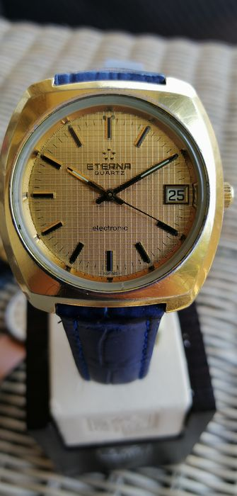 Eterna Electronic  - Eterna Electronic 1555 - Eterna 407 T - Men - 1970-1979