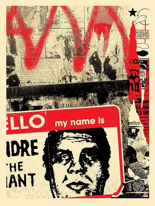 Shepard Fairey (OBEY) - 'Hello My Name Is'
