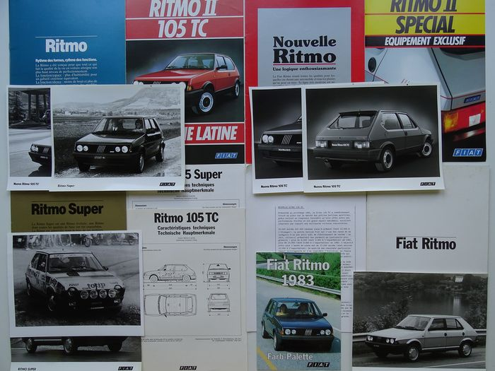 Brochures / catalogues - FIAT - Ritmo 105 TC, 85 Super, Special, 60 L, 65 & 75 CL, etc - 1981-1984