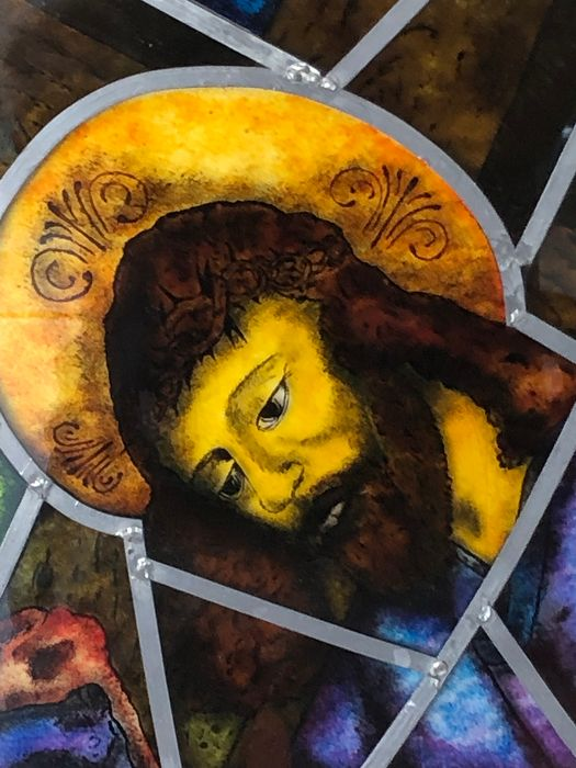 Religious representation - Stained glass