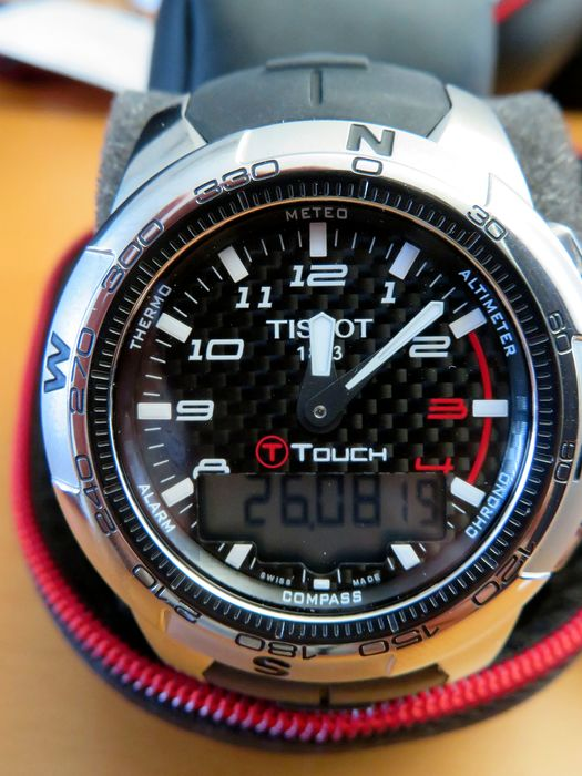 """Tissot - T-Touch II """"NO RESERVE PRICE"""" - T013.420.47.202.00 - Unisex - 2011-heden"""