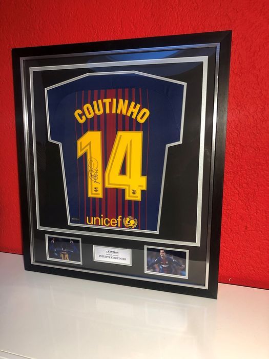 newest collection 4bbe5 bed01 FC Barcelona - Spanish Football League - Philippe Coutinho ...