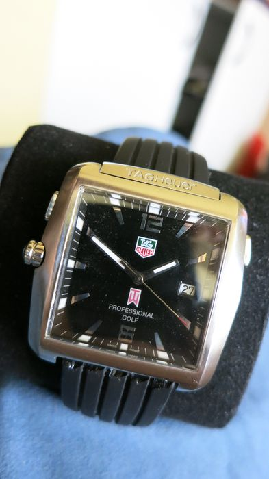TAG Heuer - Golf Professional Watch Tiger Woods Ltd. Ed. - WAE1110 - Men - 2011-present
