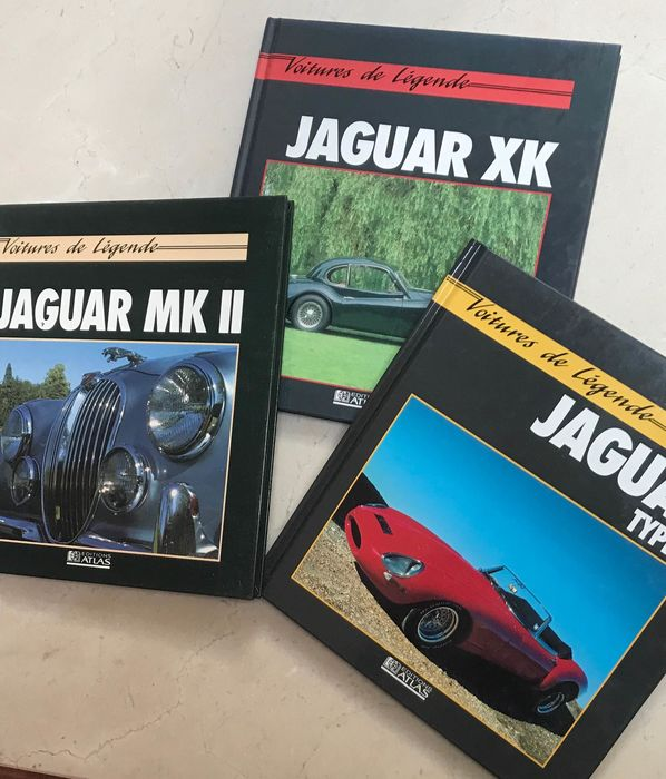 Books - Jaguar - jaguar - 1990-1993