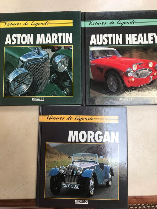 Books - Aston Martin - aston martin .. austin healey... morgan - 1990-1993