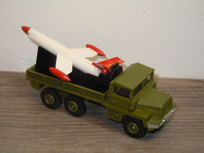 DINKY 620 BERLIET GAZELLE lance-missiles reproduction repro-Tin Canopy