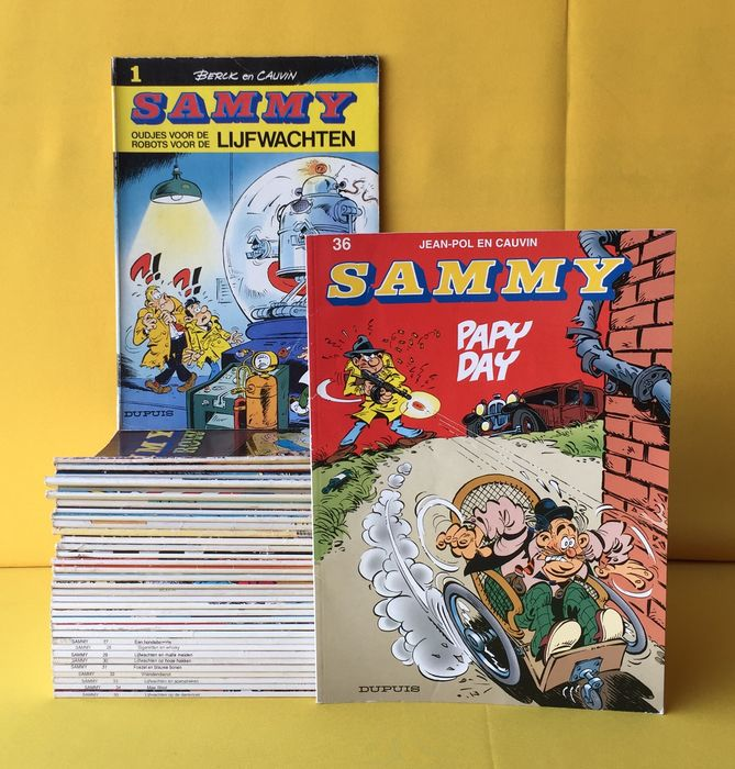 Sammy 1 t/m 36 - Complete reeks - Softcover - Different editions - (1985/2001)