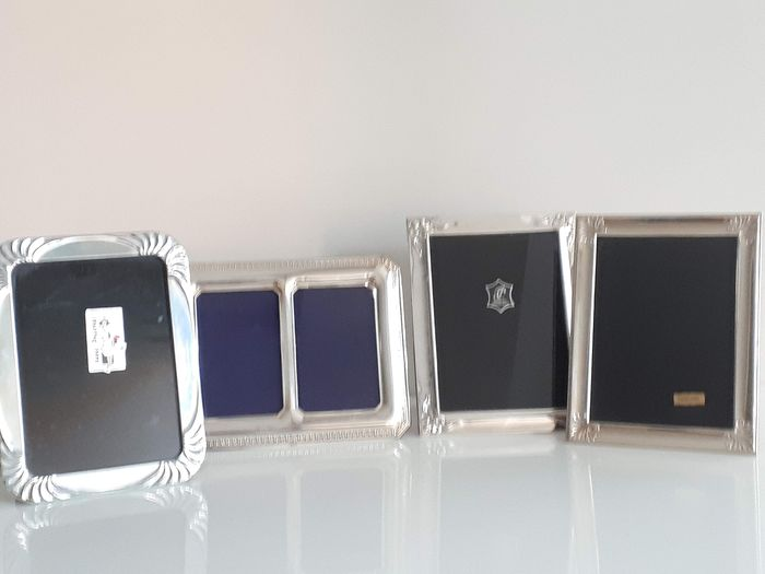 Collection of punched silver frames - Neoclassical - Silver
