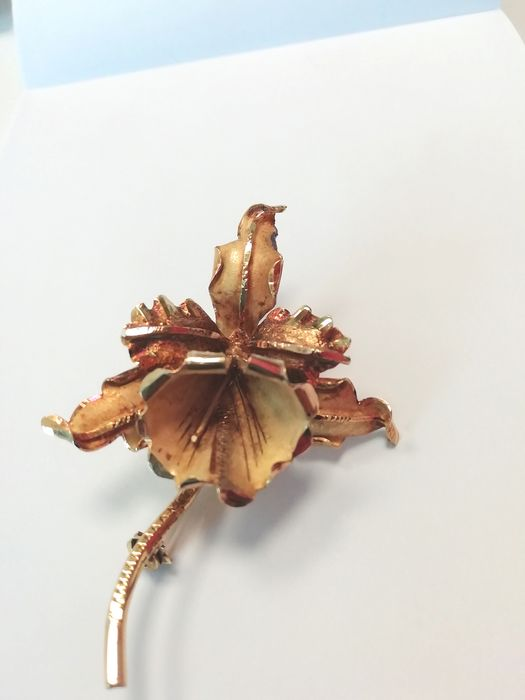 18 kt. Yellow gold - Brooch