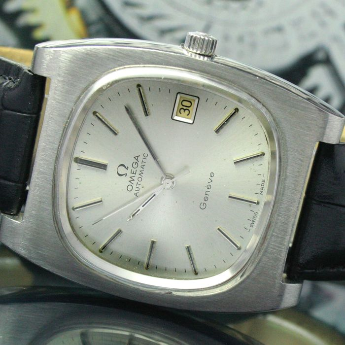 Omega - Genève Automatic Quick Date Steel  - 166.0190 - Men - 1974