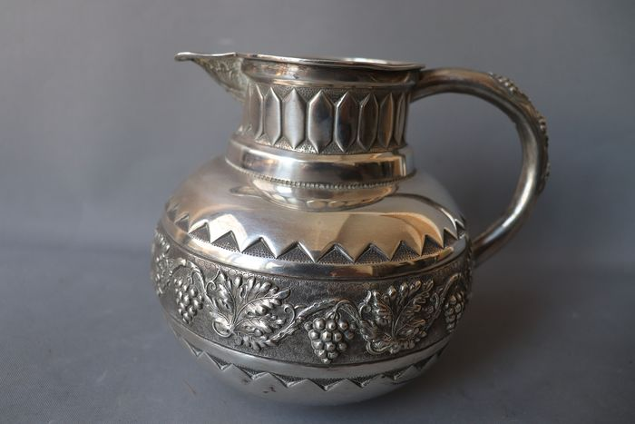 Jug - Silver 916 ( boar mark )  - Portugal - Early 20th century