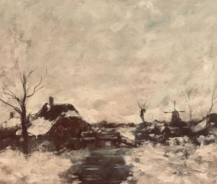 Arnout Colnot (1887 - 1983)  - Winter
