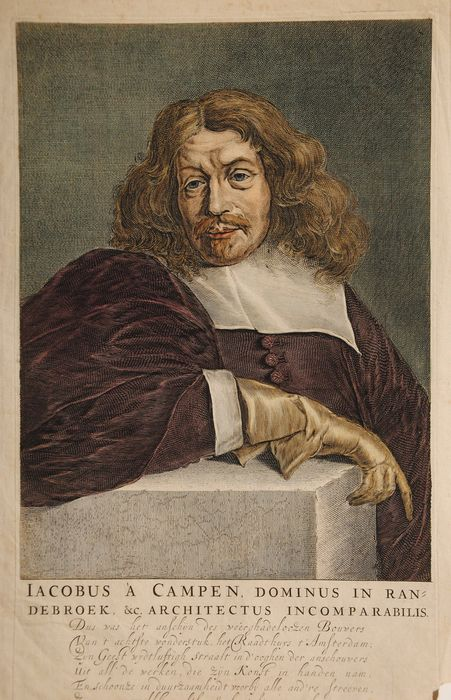 Dutch School (17th century) - portrait of architect Jacob van Campen (1596-1657)
