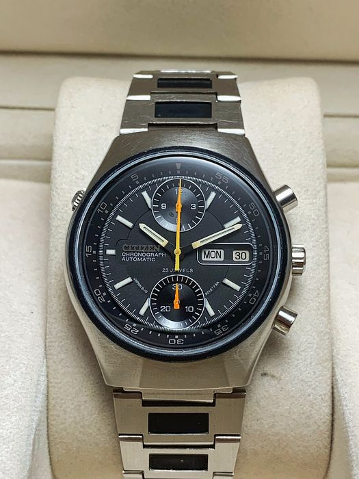 """Citizen - """"NO RESERVE PRICE"""" Vintage Automatic Chronograph Flyback Cal.8110 - Herren - 1970-1979"""