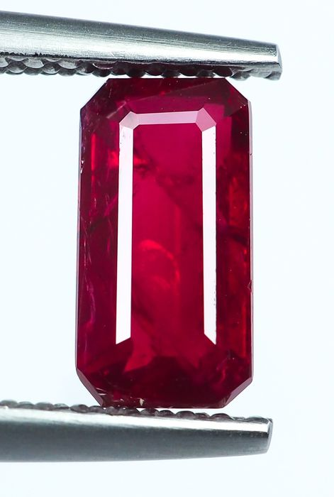 No Reserve - Red Ruby  - 1.25 ct