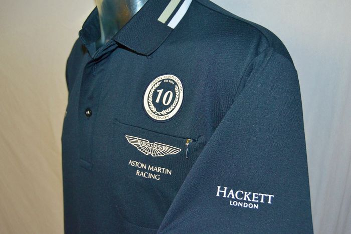 "Aston Martin Racing Crew Shirt ""10 Years"" - 24h Le Mans - Hackett - 2014 - Ropa de equipo"