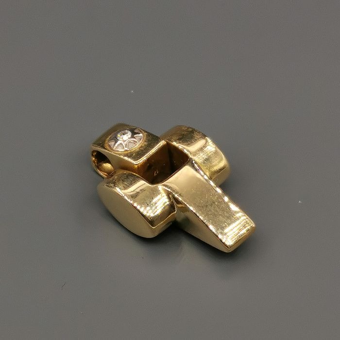 Chimento - 18 kt. Yellow gold - Pendant - 0.01 ct Diamond