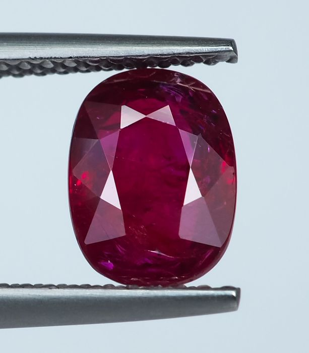 No Reserve - Red Ruby  - 2.02 ct