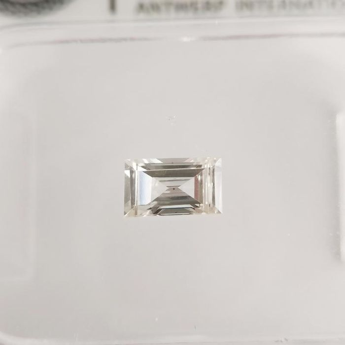 1 pcs Diamond - 0.25 ct - Baguette - H - VS2