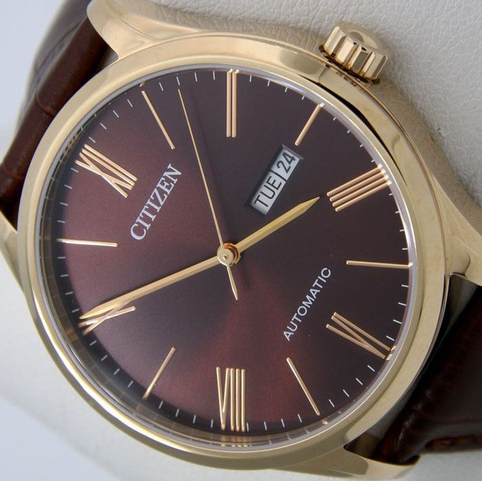 "Citizen - Automatic ""Gold-Brown"" - - ""NO RESERVE PRICE"" -  - Heren - 2011-heden"
