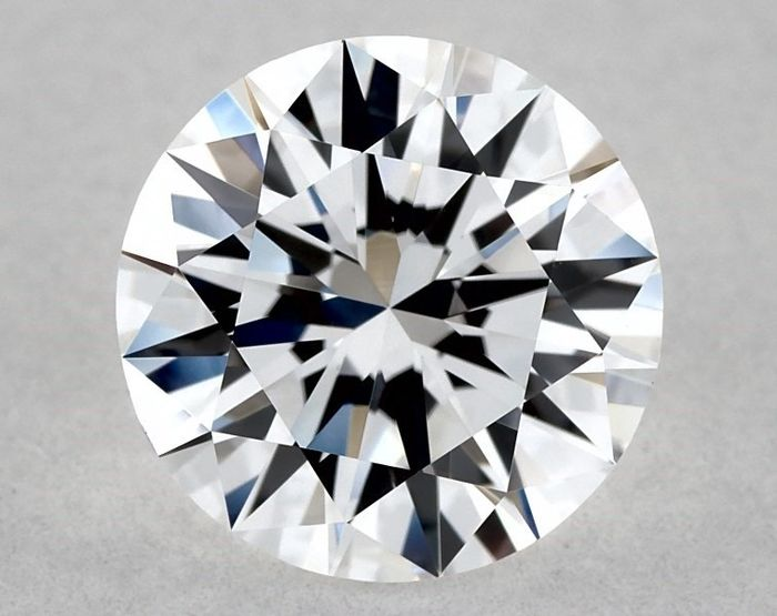 Diamond - 0.92 ct - Brilliant, Round, GIA Certified - D (colourless) - IF (flawless), LC (loupe clean), 3EX