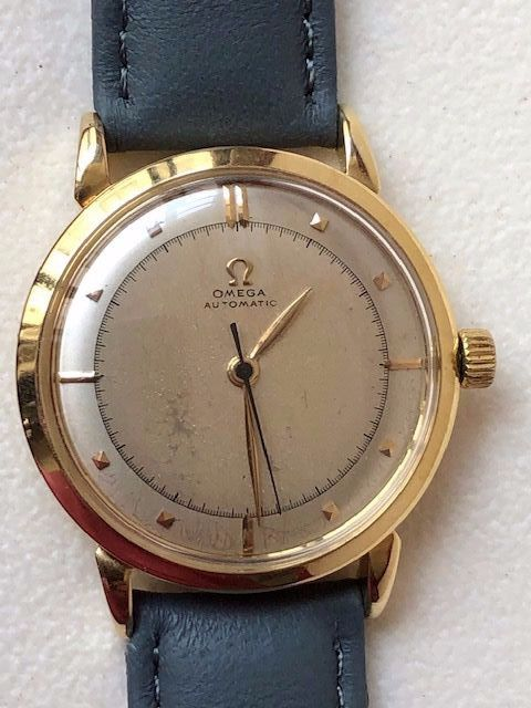 """Omega - Bumper-18K(0.750) Yellow Gold - """"NO RESERVE PRICE"""" - 10799022 - Homme - 1950-1959"""
