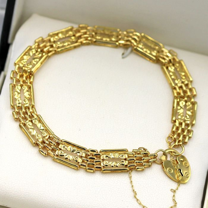 9 kt. Yellow gold - Bracelet