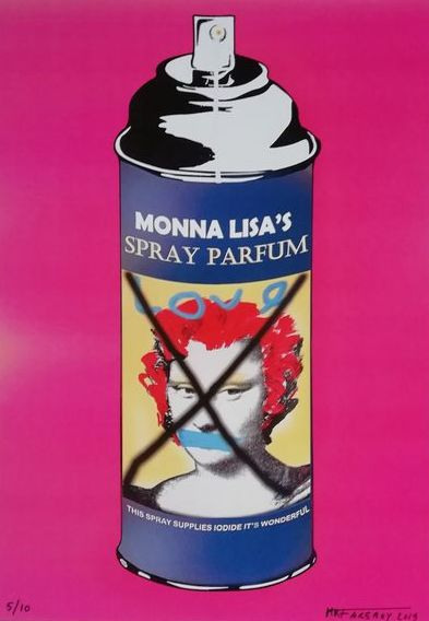 Mr.Fakeboy - Mona Lisa Spray Parfum