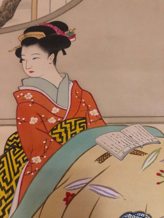 Paintings - Silk - Japan - Late 20th century