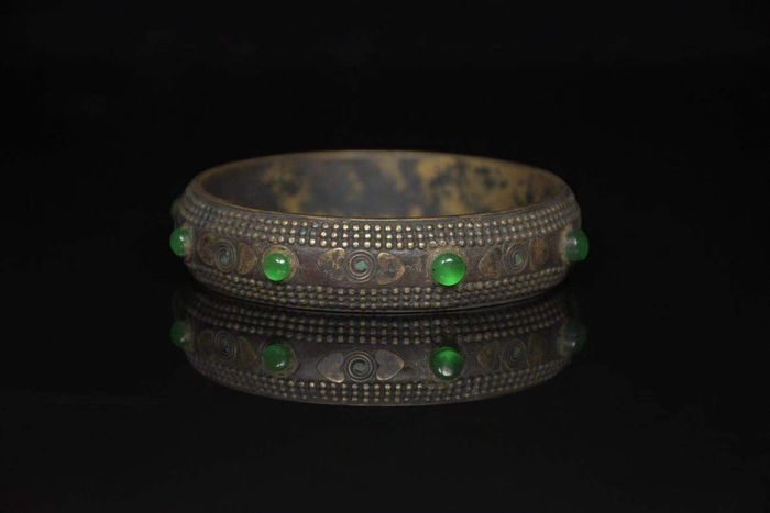 Bangle - Hardstone - China - Late 20th century