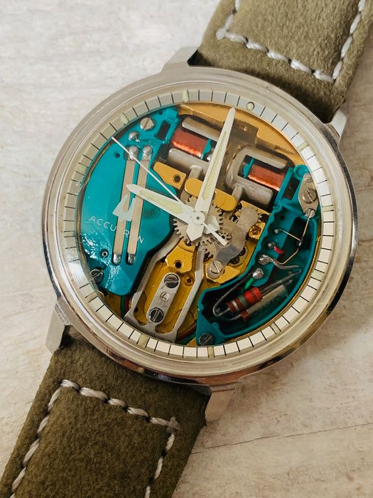 Bulova - Accutron Spaceview 214 - N1 - Men - 1970-1979