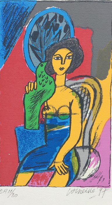 Corneille  - Femme assise